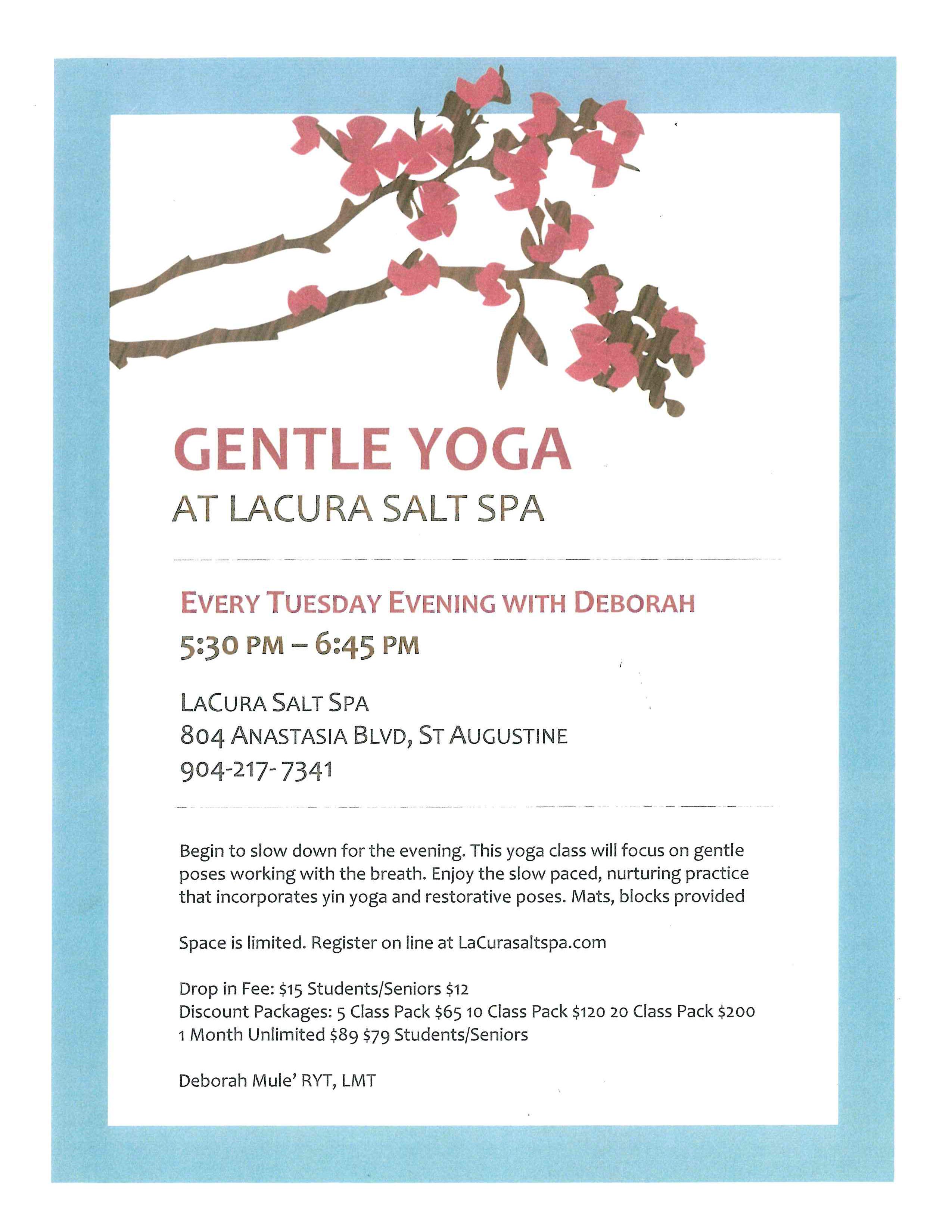 Gentle Yoga-Deborah
