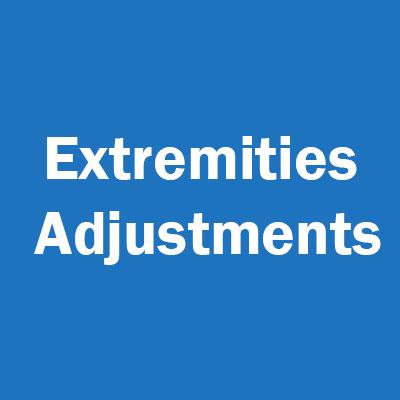 Extremities Adjustments
