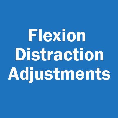 Flexion Distraction Adjustments
